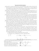 Bài tập +(đáp án) vật lý 8 nâng cao