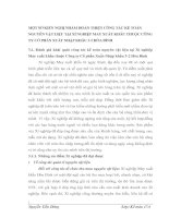 MỘT SỐ KIẾN NGHỊ NHẰM HOÀN THIỆN CÔNG TÁC KẾ TOÁN NGUYÊN VẬT LIỆU TẠI XÍ NGHIỆP MAY XUẤT KHẨU THUỘC CÔNG TY CỔ PHẦN XUẤT NHẬP KHẨU 3-2 HÒA BÌNH