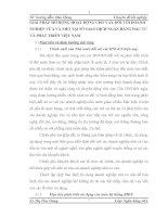 GIẢI PHÁP MỞ RỘNG HOẠT ĐỘNG CHO VAY ĐỐI VỚI DOANH NGHIỆP VỪA VÀ NHỎ TẠI SỞ GIAO DỊCH NGÂN HÀNG ĐẦU TƯ VÀ PHÁT TRIỂN VIỆT NAM