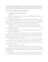 NHỮNG GIẢI PHÁP NHẰM NÂNG CAO CHẤT LƯỢNG TÍN DỤNG TẠI NGÂN HÀNG THƯƠNG MẠI CỔ PHẦN HÀNG HẢI VIỆT NAM