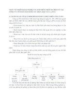 THỰC TẾ TRIỂN KHAI NGHIỆP VỤ BẢO HIỂM THIẾT BỊ ĐIỆN TỬ TẠI CÔNG TY CỔ PHẦN BẢO HIỂM  BƯU ĐIỆN (GỌI TẮT LÀ PTI)
