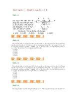 Trắc nghiệm dao động điện từ - dòng điện xoay chiều (Đề 6)