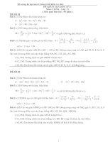 Đề cương Toan 8 - kì 1 ( gồm 10 đề KT)