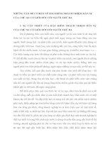 NHỮNG VẤN ĐỀ CƠ BẢN VỀ BẢO HIỂM TRÁCH NHIỆM DÂN SỰ CỦA CHỦ XE CƠ GIỚI ĐỐI VỚI NGƯỜI THỨ BA