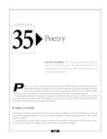 The GED Language Arts, Reading Exam - Poetry