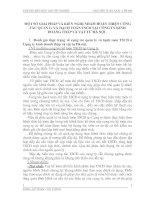 MỘTSỐ GIẢI PHÁP VÀ KIẾN NGHỊ NHẰM HOÀN THIỆN CÔNG TÁC QUẢN Lí VÀ HẠCH TOÁN TSCĐ TẠI CÔNG TY KINH DOANG THẤP VÀ VẬT TƯ HÀ NỘI