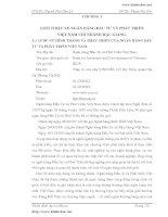 GIỚI THIỆU VỀ NGÂN HÀNG ĐẦU TƯ VÀ PHÁT TRIỂN VIỆT NAM CHI NHÁNH HẬU GIANG