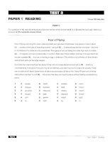 Oxford University Press Certificate In Proficiency English - Test 3