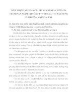 THỰC TRẠNG KẾ TOÁN CHI PHÍ SẢN XUẤT VÀ TÍNH GIÁ THÀNH SẢN PHẨM TẠI CÔNG TY TNHH ĐẦU TƯ XÂY DỰNG VÀ THƯƠNG MẠI NGÃI CẦU