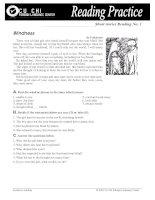 Reading Practice No1
