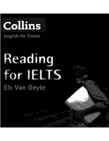 Reading for IELTS (collins)