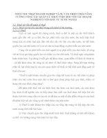 THUẾ THU NHẬP DOANH NGHIỆP VÀ SỰ CẦN THIẾT PHẢI TĂNG CƯỜNG CÔNG TÁC QUẢN LÝ THUẾ TNDN ĐỐI VỚI CÁC DOANH NGHIỆPCÓ VỐN ĐẦU TƯ NƯỚC NGOÀI