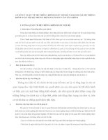 CƠ SỞ LÝ LUẬN VỀ HỆ THỐNG KIỂM SOÁT NỘI BỘ VÀ ĐÁNH GIÁ HỆ THỐNG KIỂM SOÁT NỘI BỘ TRONG KIỂM TOÁN BÁO CÁO TÀI CHÍNH
