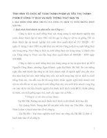 TÌNH HÌNH TỔ CHỨC KẾ TOÁN THÀNH PHẨM VÀ TIÊU THỤ THÀNH PHẨM Ở CÔNG TY DỊCH VỤ NUÔI TRỒNG THUỶ SẢN TW