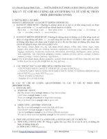 Bài soạn EXPRESSIONS OF QUANTITY-TUANAVHN3