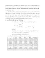 Các mô hình phân tích biến động và dự báo chuỗi lợi suất của các cổ phiếu  dha