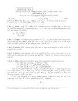 Đề thi HSG tin cấp huyện, có đáp án