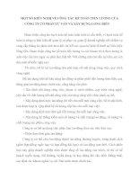 MỘT SỐ KIẾN NGHỊ VỀ CÔNG TÁC KẾ TOÁN TIỀN LƯƠNG CỦA CÔNG TY CỔ PHẦN TƯ VẤN VÀ XÂY DỰNG LONG BIÊN