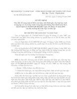 Tài liệu TT 51 sửa đổi bổ xung ĐGXL HS các môn Âm nhạc, Mỹ thuật