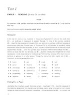 Cambridge University Press Cambridge Certificate Of Profeciency English - Test 1