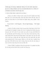 TỔNG QUAN VỀ ĐẶC ĐIỂM KỸ THUẬT VÀ TỔ CHỨC BỘ MÁY QUẢN LÝ HOẠT ĐỘNG SẢN XUẤT KINH DOANH CỦA CÔNG TY CỔ PHẦN XI MĂNG TUYÊN QUANG