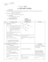hình học 6 tiét 15 giáo án 4 cột