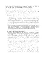 CƠ SỞ LÝ LUẬN VÀ MỐI QUAN HỆ GIỮA MỘT TỔ CHỨC VỚI NHÀ TẠO LẬP THỊ TRƯỜNG TRÊN THỊ TRƯỜNG CHỨNG KHOÁN