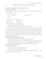 Cơ sở lý thuyết hóa học _Chương 8