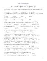 Trắc nghiệm đường thẳng 10