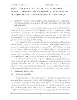 MỘT SỐ KIẾN NGHỊ VÀ GIẢI PHÁP ĐẨY MẠNH KHAI THÁC NGHIỆP VỤ BẢO HIỂM TRÁCH NHIỆM DÂN SỰ  CỦA CHỦ XE CƠ GIỚI TẠI CÔNG TY BẢO HIỂM HÀ NỘI TRONG THỜI GIAN QUA