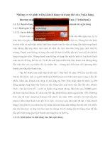 Những cơ sở phát triển khách hàng sử dụng thẻ của Ngân hàng thương mại cổ phần Công Thương Việt Nam (Vietinbank)