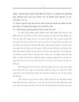 THỰC TRẠNG KẾ TOÁN CHI PHÍ SẢN XUẤT VÀ TÍNH GIÁ THÀNH SẢN PHẨM XÂY LẮP TẠI CÔNG TY CỔ PHẦN XÂY DỰNG VÀ TƯ VẤN ĐẦU TƯ 18