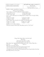 Bài giảng De dap an Su 8 Ki II chuan