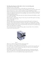 Hệ thống điện động lực, điều khiển và bảo vệ của hệ thống lạnh