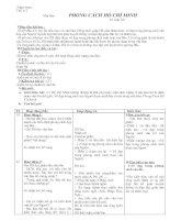 giáo án ngữ văn 9 kì 1