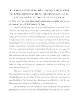 KIẾN NGHỊ VÀ GIẢI PHÁP HOÀN THIỆN QUY TRÌNH ĐÁNH GIÁ RỦI RO KIỂM TOÁN TRONG KIỂM TOÁN BÁO CÁO TÀI CHÍNH TẠI CÔNG TY TNHH DELOITTE VIỆT NAM