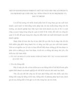 MỘT SỐ GIẢI PHÁP HOÀN THIỆN TỔ CHỨC KẾ TOÁN TIÊU THỤ SẢN PHẨM VÀ XÁC ĐỊNH KẾT QUẢ TIÊU THỤ TẠI  TỔNG CÔNG TY XUẤT NHẬP KHẨU VÀ ĐẦU TƯ IMEXIN
