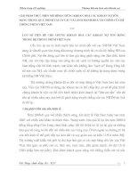 GIẢI PHÁP THỰC HIỆN MÔ HÌNH CHỨNG KHOÁN HOÁ CÁC KHOẢN NỢ TỒN ĐỌNG TRONG QUÁ TRÌNH TÁI CƠ CẤU VÀ LÀNH MẠNH HOÁ TÀI CHÍNH CỦA HỆ THỐNG NHTM VIỆT NAM