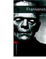 Frankenstein bộ sách tiếng anh dùng để học từ vựng