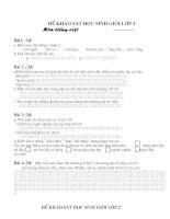 Gián án KHAO SAT HSG T10-09