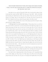 MỘT SỐ BIỆN PHÁP NHẰM TĂNG THU NHẬP, TIẾT KIỆM CHI PHÍ, NÂNG CAO KẾT QUẢ KINH DOANH CỦA HỘI SỞ CHÍNH NGÂN HÀNG KỸ THƯƠNG VIỆT NAM.