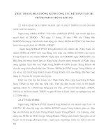 Thực trạng hoạt động KTNB công tác kế toán tại chi nhánh NHNo Trùng Khánh