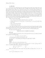 Bài soạn phuong phap giai cuc nhanh de thi trac nghiem 2011
