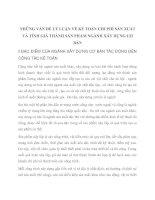 NHỮNG VẤN ĐỀ LÝ LUẬN VỀ KẾ TOÁN CHI PHÍ SẢN XUẤT VÀ TÍNH GIÁ THÀNH SẢN PHẨM NGÀNH XÂY DỰNG CƠ BẢN