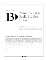 About the GED Social Studies Exam