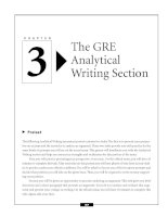 The GRE Analytical Writing Section