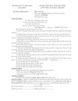 Đề thi HSG ngữ văn 9