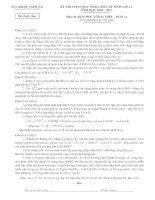 Tài liệu ĐỀ THI HSG NGHỆ AN 2010 - 2011 BẢNG A