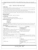 Bài giảng Hoa Hoc 8