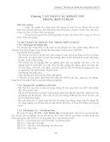 Kế toán các khoản thu trong đơn vị hành chính sự nghiệp_chương 7